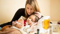 Qué no se debe hacer cuando el niño enferma