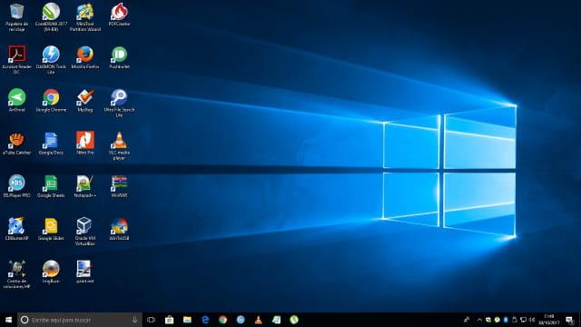 Windows me aparece en blanco y negro resuelto for Escritorio para computadora