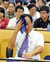 El presidente del grupo Hon Hai, Terry Gou.