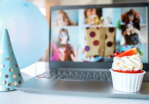 Cumpleaños virtual: ideas y juegos para niños y adultos