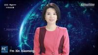China crea una presentadora de noticias virtual