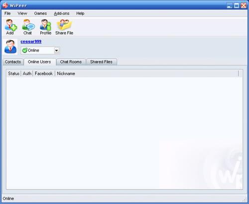 Descargar wiPeer gratis - Última versión en español en CCM