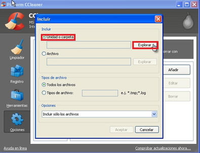 Limpieza de archivos temporales (AppData Local Temp)