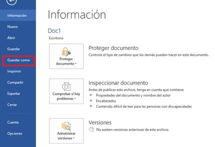 como paso un documento de word a pdf