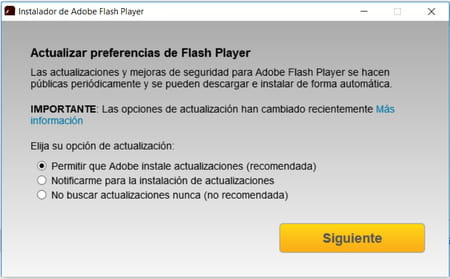 descargar adobe flash player de 64 bits para windows 8