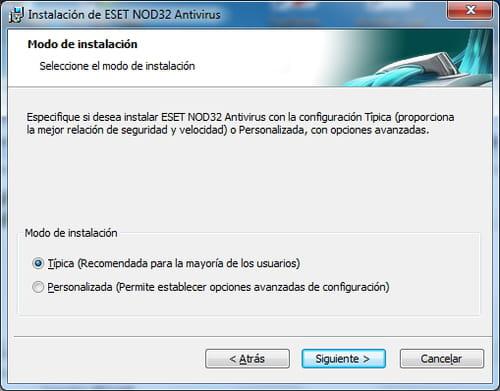 Descarga e instalación de ESET NOD32 Antivirus 4