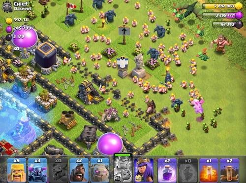 clash of queens apk mod