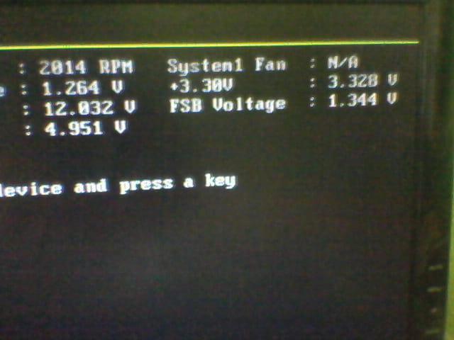 Por q aparece en la pc reboot and select proper boot devic