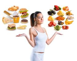 Alimentos Nutritivos Y Comida Chatarra
