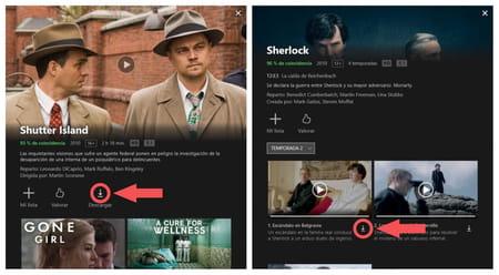 Netflix descargar contenido en PC