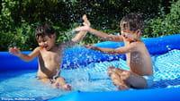 Las piscinas infantiles no son seguras