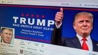 Facebook colabora contra Trump