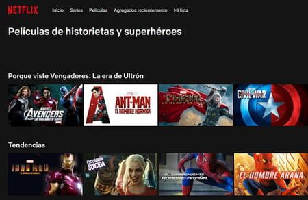 códigos secretos de categorías ocultas en Netflix