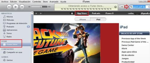 Descarga aplicaciones desde el PC e instálalas en tu iPad o