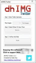 Descargar dhIMG Twitter (Descargas)