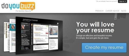 doyoubuzz permite mejorar el posicionamiento online del cv