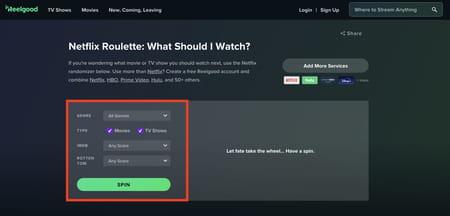 qué es Netflix Roulette