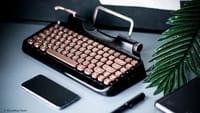 Rymek, el curioso teclado mecánico retro
