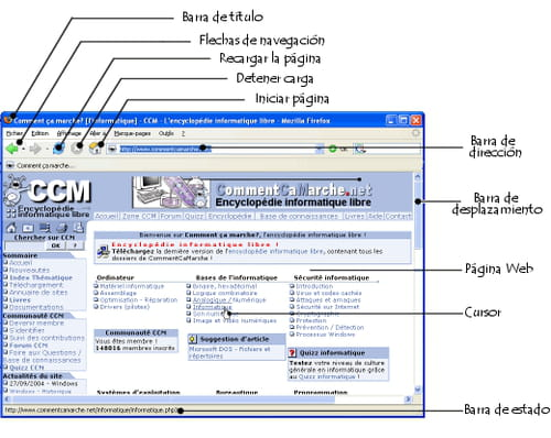 El navegador